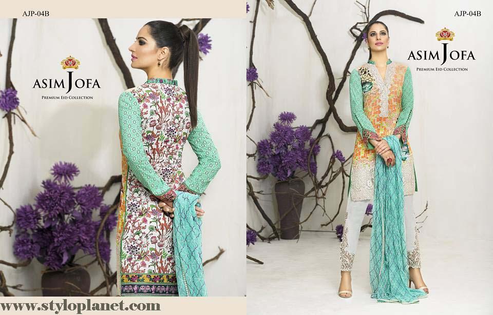 Asim Jofa Luxury Premium Eid Dresses Collection 2016 -2017 Catalog (5)