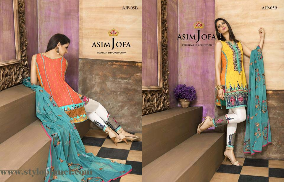 Asim Jofa Luxury Premium Eid Dresses Collection 2016 -2017 Catalog (6)