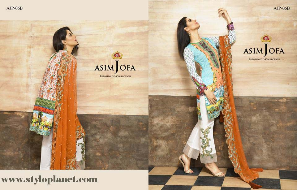 Asim Jofa Luxury Premium Eid Dresses Collection 2016 -2017 Catalog (7)