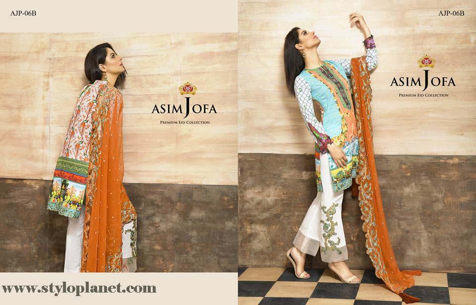 Asim Jofa Luxury Premium Eid Dresses Collection 2016 -2017 Catalog (7)
