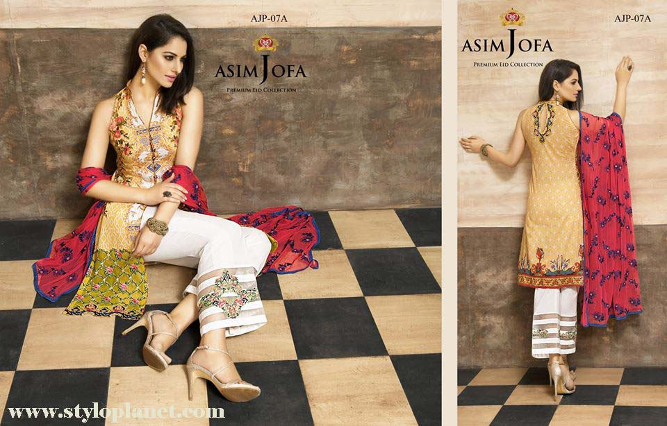 Asim Jofa Luxury Premium Eid Dresses Collection 2016 -2017 Catalog (9)