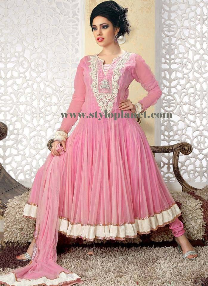 embroidered Frocks Designs