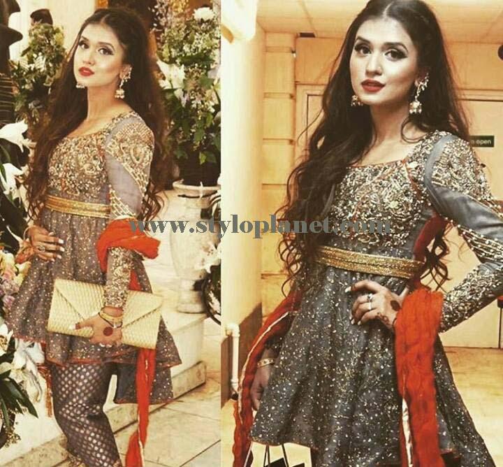 e844c0e9a375 Stylish Pakistani and Indian Designers Frocks