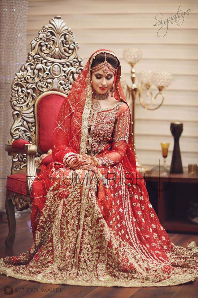 Beaufiful designers bridal wear dresses 2016 stylo planet for Current wedding dress styles