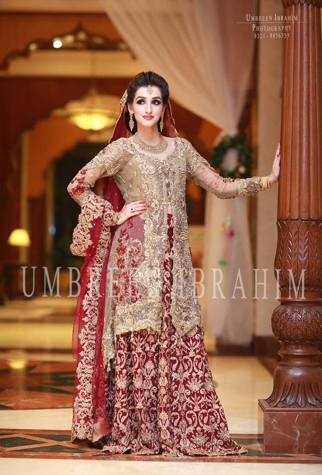Beaufiful Designers Bridal Wear Dresses 2016 Stylo Planet