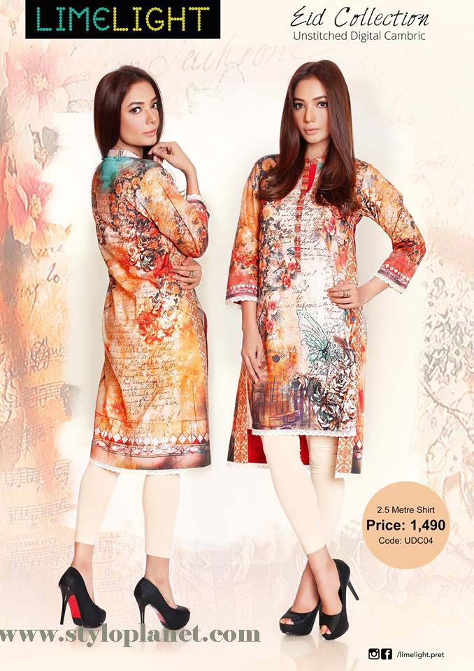 Limelight Unstitched Digital Cambric Eid Collection 2016-2017 (11)