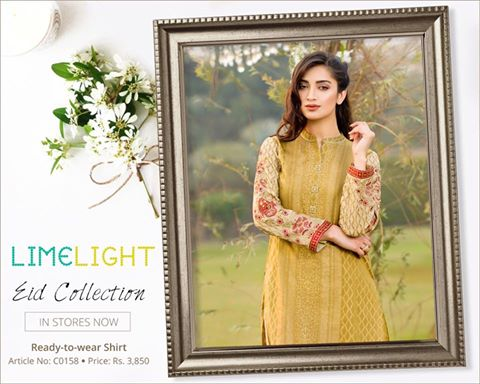 Limelight Unstitched Digital Cambric Eid Collection 2016-2017