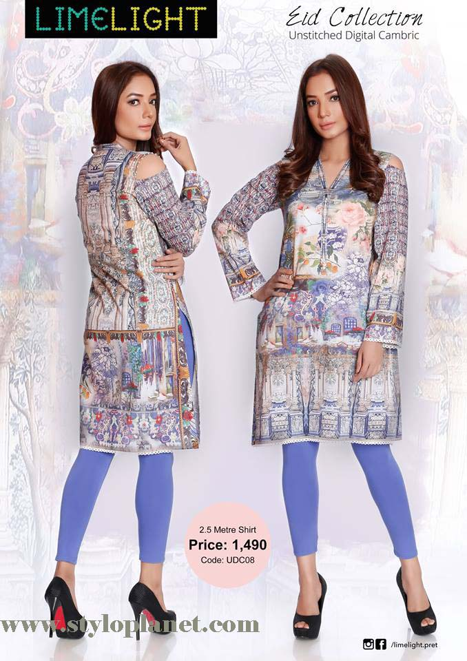 Limelight Unstitched Digital Cambric Eid Collection 2016-2017 (8)