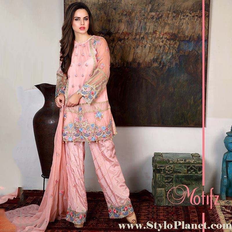 Motifz Premium Embroidered Luxury Lawn Collection 2016-2017 (16)