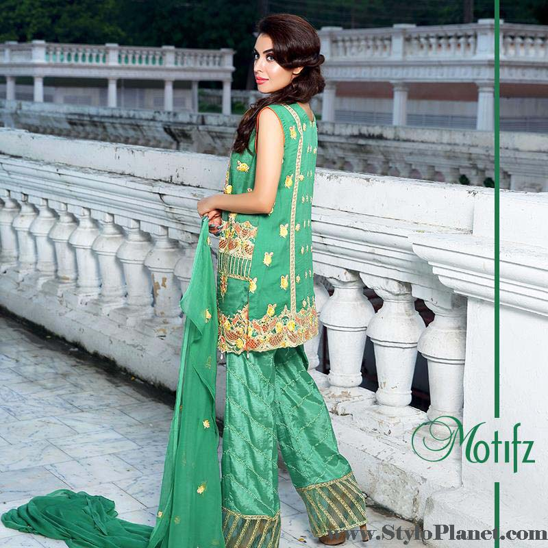 Motifz Latest Embroidered Eid Dresses