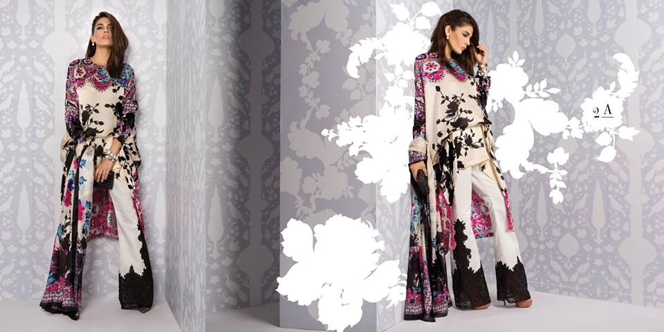Sana Safinaz Silk Dresses Design for Women 2016-17 Eid Collection (3)