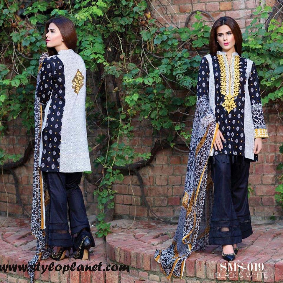 Sana & Samia Midsummer'16 Collection by LALA Textiles for Women (10)