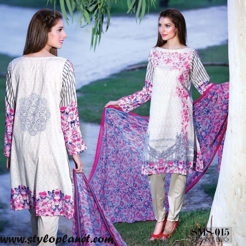 Sana & Samia Midsummer'16 Collection by LALA Textiles for Women (11)