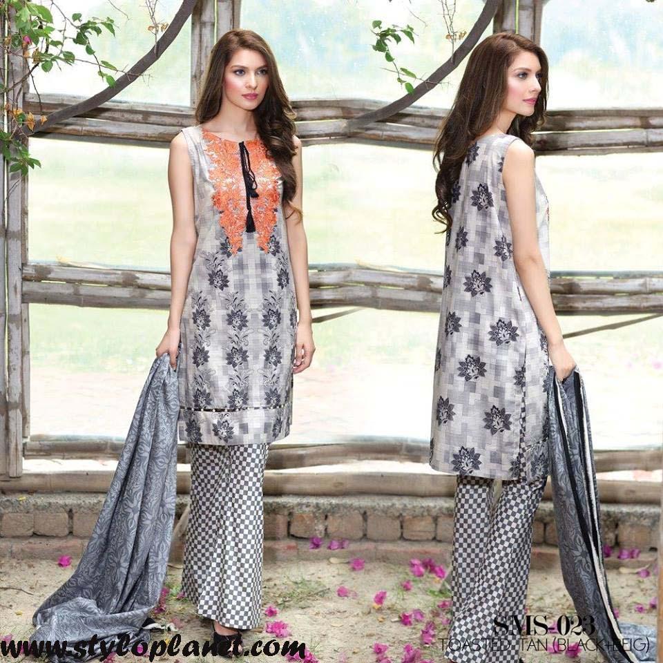 Sana & Samia Midsummer'16 Collection by LALA Textiles for Women (12)