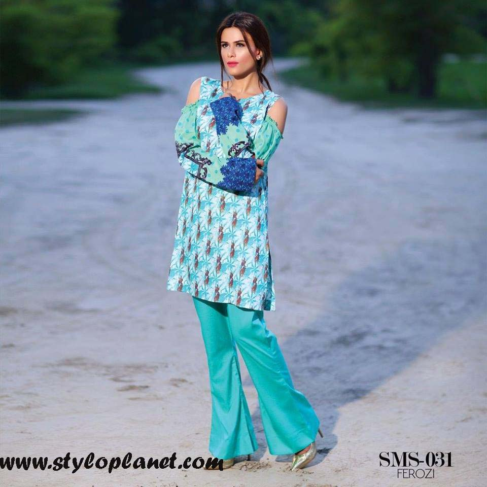Sana & Samia Midsummer'16 Collection by LALA Textiles for Women (14)
