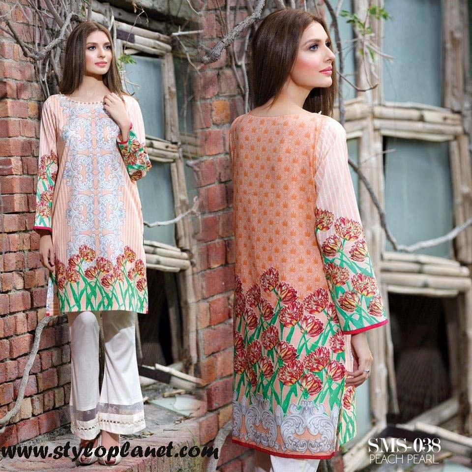 Sana & Samia Midsummer'16 Collection by LALA Textiles for Women (15)
