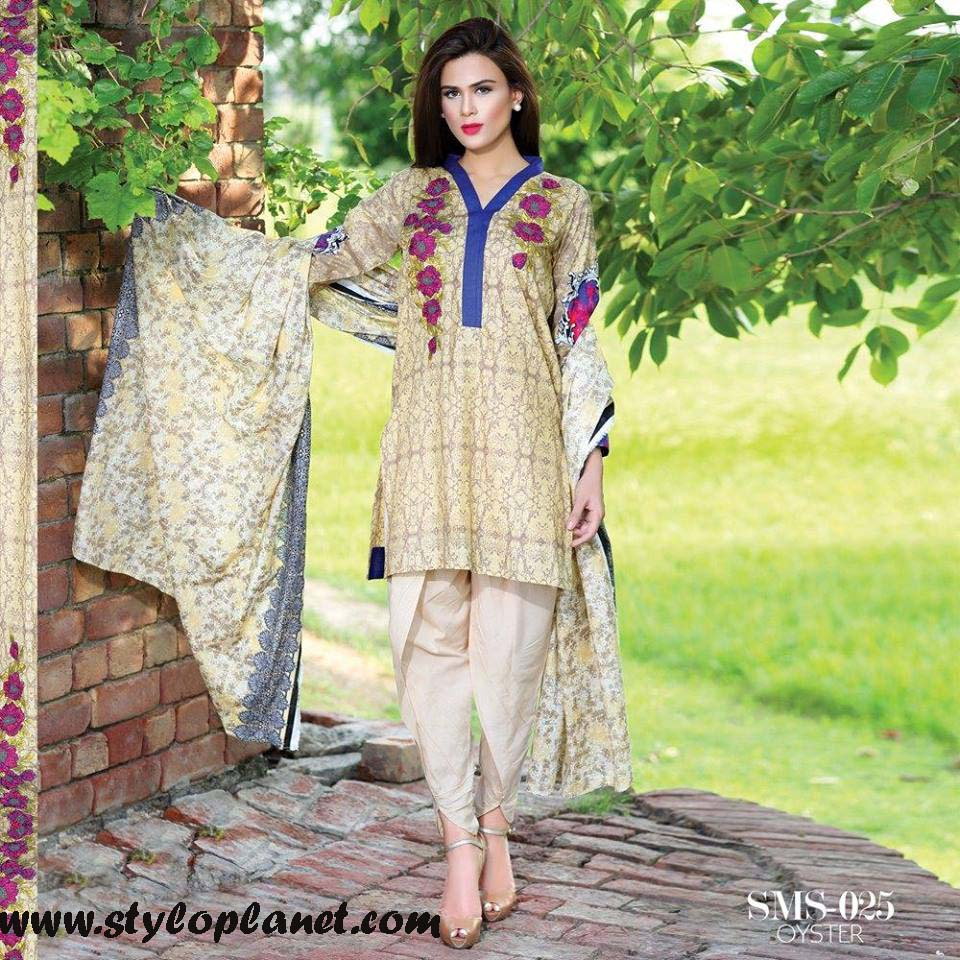 Sana & Samia Midsummer'16 Collection by LALA Textiles for Women (16)