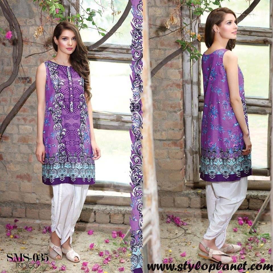 Sana & Samia Midsummer'16 Collection by LALA Textiles for Women (17)