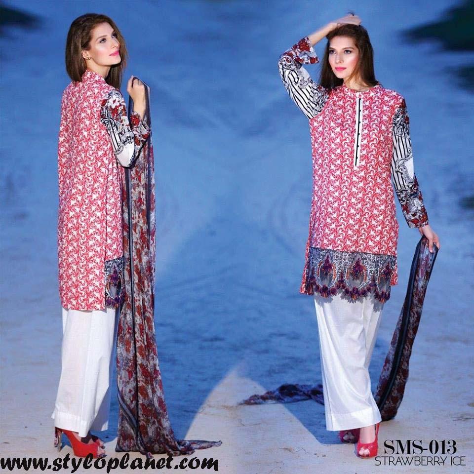 Sana & Samia Midsummer'16 Collection by LALA Textiles for Women (18)