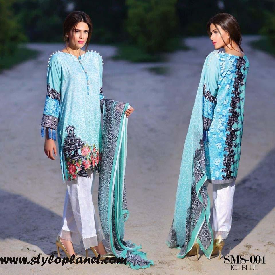 Sana & Samia Midsummer'16 Collection by LALA Textiles for Women (20)