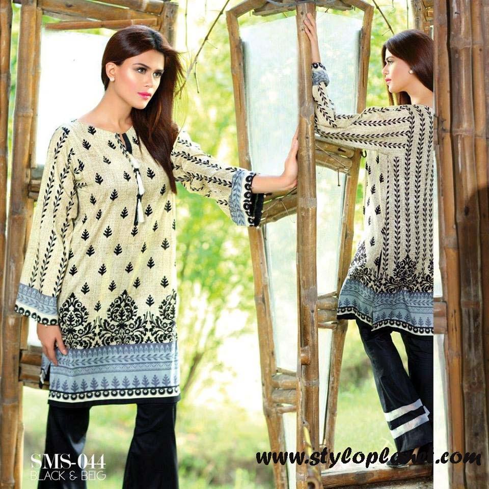 Sana & Samia Midsummer'16 Collection by LALA Textiles for Women (22)