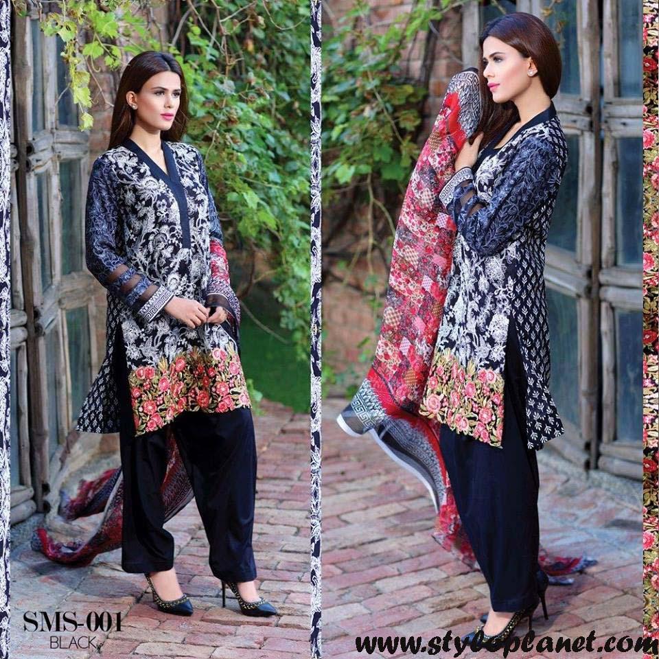 Sana & Samia Midsummer'16 Collection by LALA Textiles for Women (24)