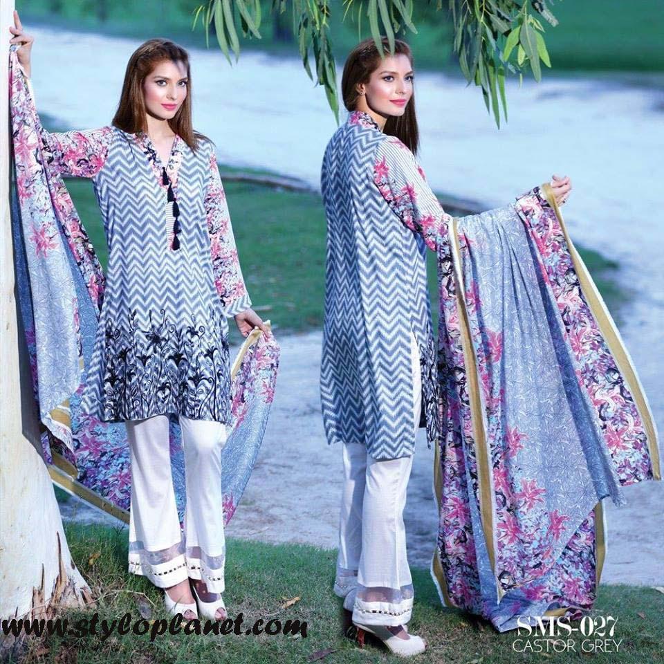 Sana & Samia Midsummer'16 Collection by LALA Textiles for Women (27)