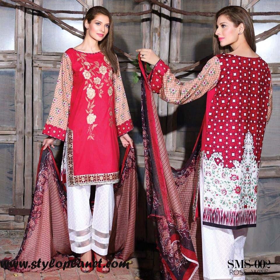 Sana & Samia Midsummer'16 Collection by LALA Textiles for Women (28)
