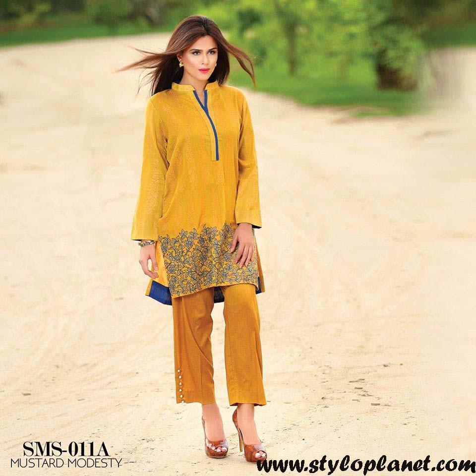 Sana & Samia Midsummer'16 Collection by LALA Textiles for Women (29)