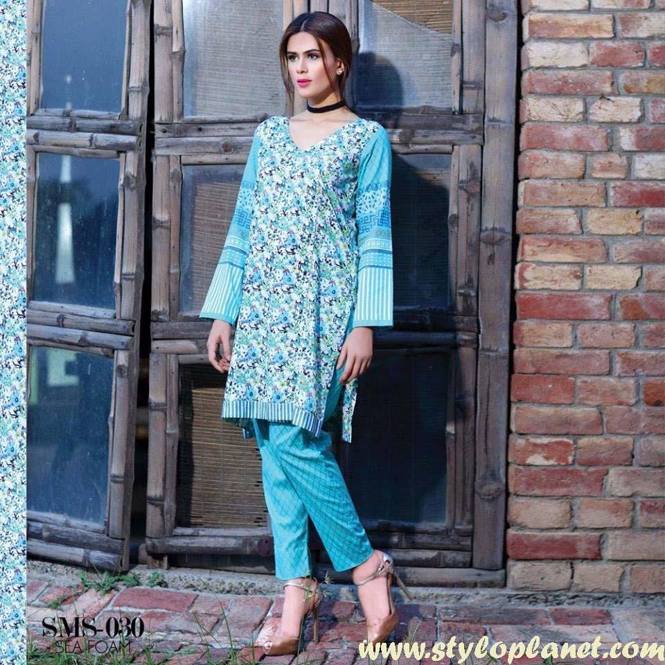 Sana & Samia Midsummer'16 Collection by LALA Textiles for Women (3)