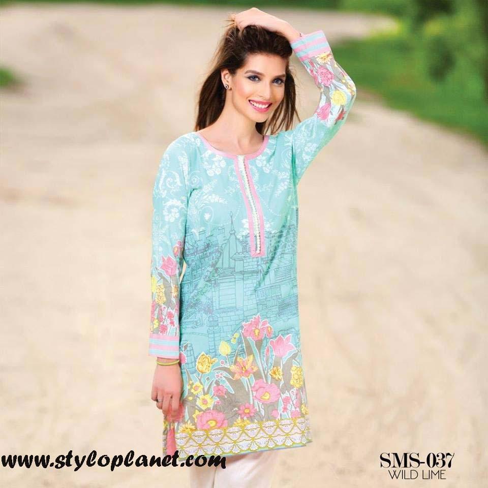 Sana & Samia Midsummer'16 Collection by LALA Textiles for Women (31)