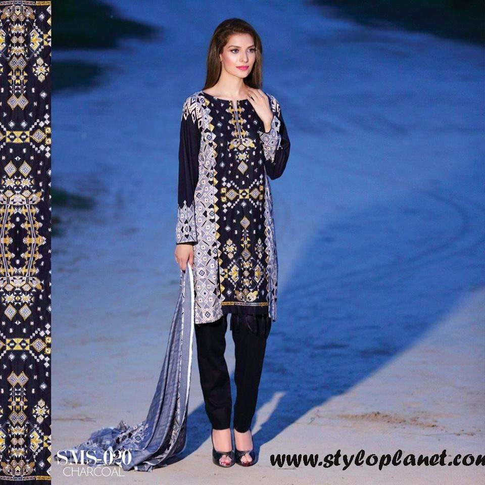 Sana & Samia Midsummer'16 Collection by LALA Textiles for Women (34)