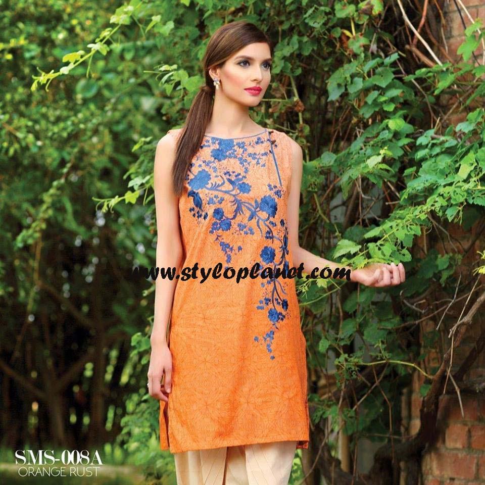 Sana & Samia Midsummer'16 Collection by LALA Textiles for Women (35)