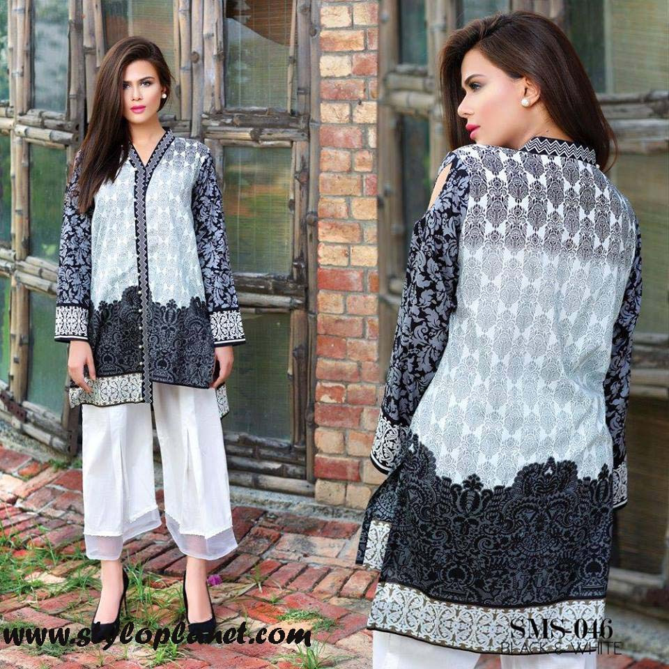 Sana & Samia Midsummer'16 Collection by LALA Textiles for Women (36)