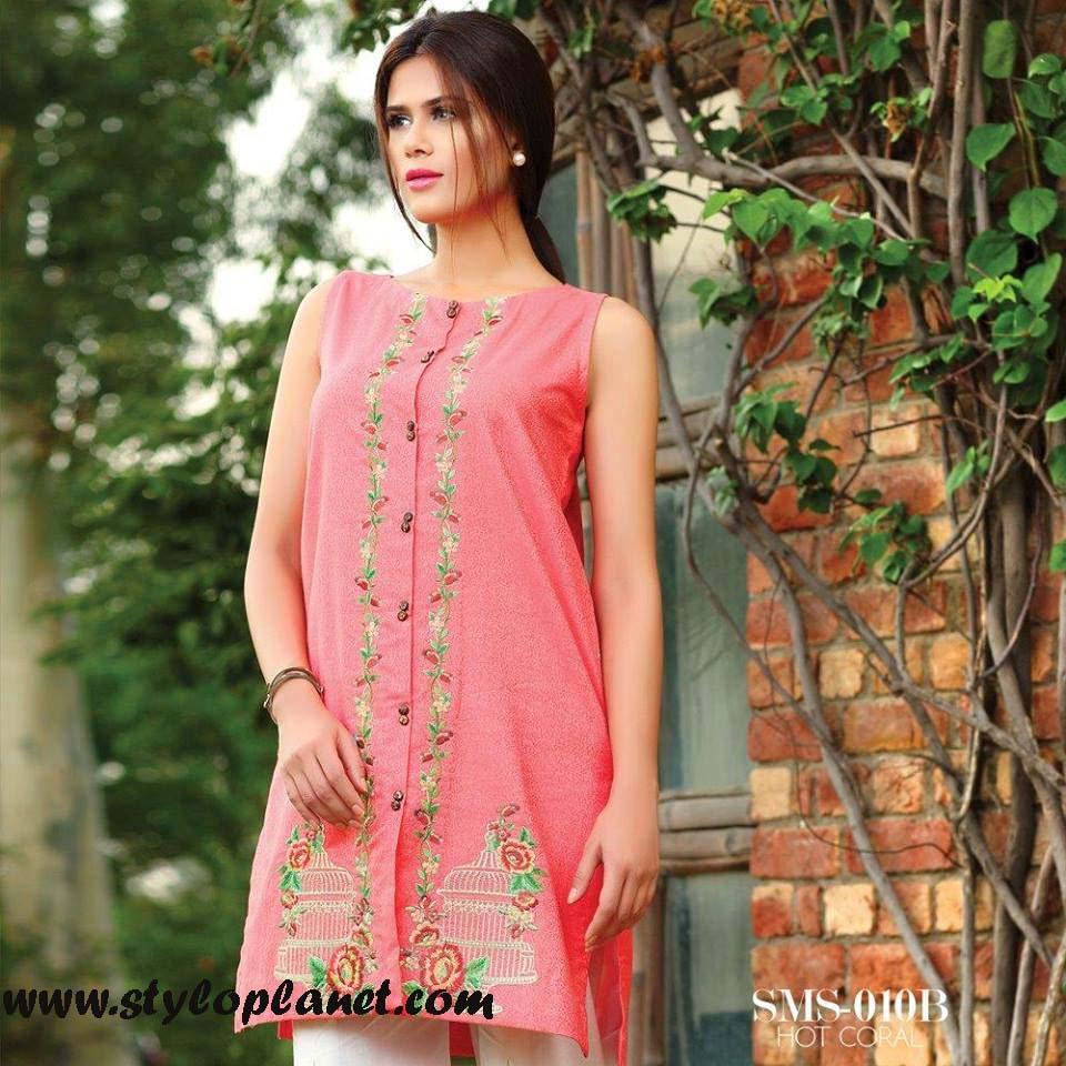 Sana & Samia Midsummer'16 Collection by LALA Textiles for Women (37)