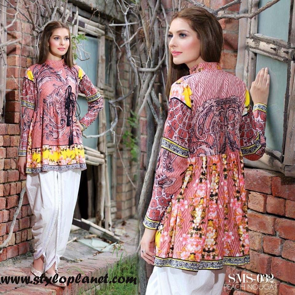 Sana & Samia Midsummer'16 Collection by LALA Textiles for Women (39)