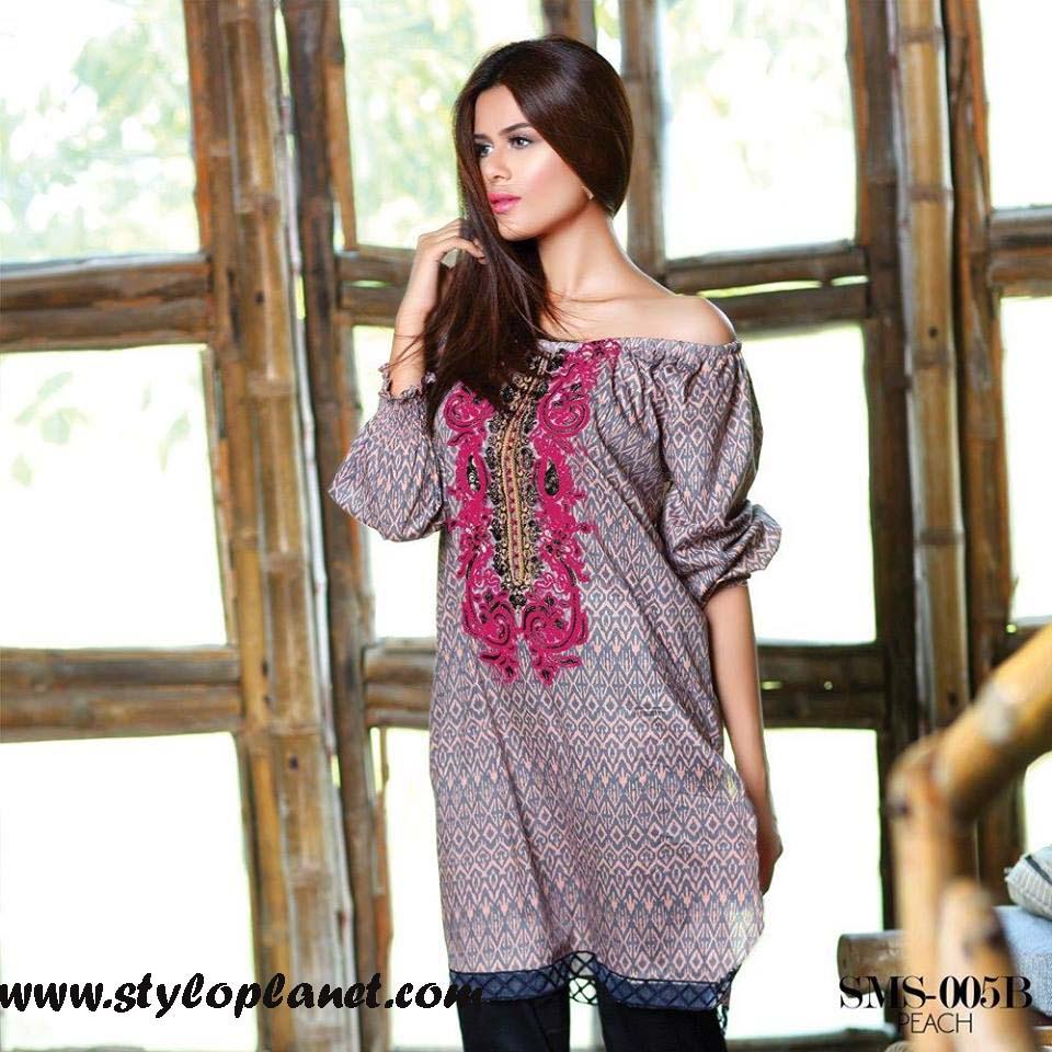 Sana & Samia Midsummer'16 Collection by LALA Textiles for Women (40)