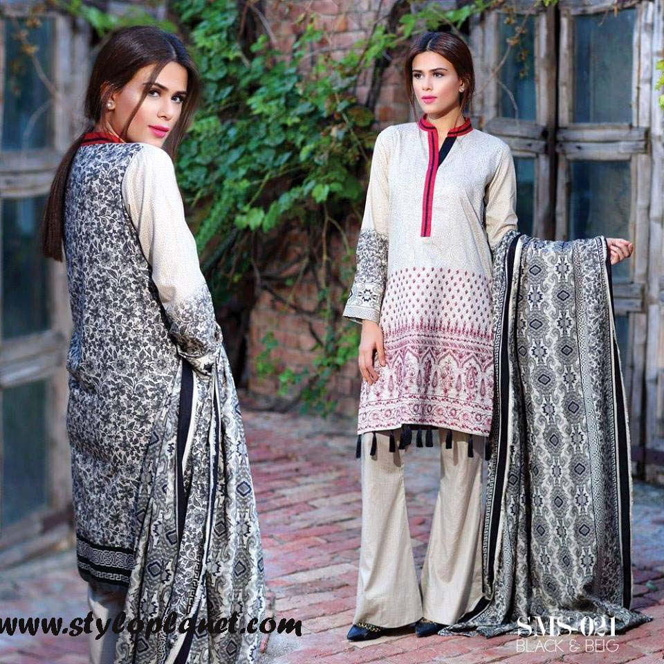 Sana & Samia Midsummer'16 Collection by LALA Textiles for Women (41)