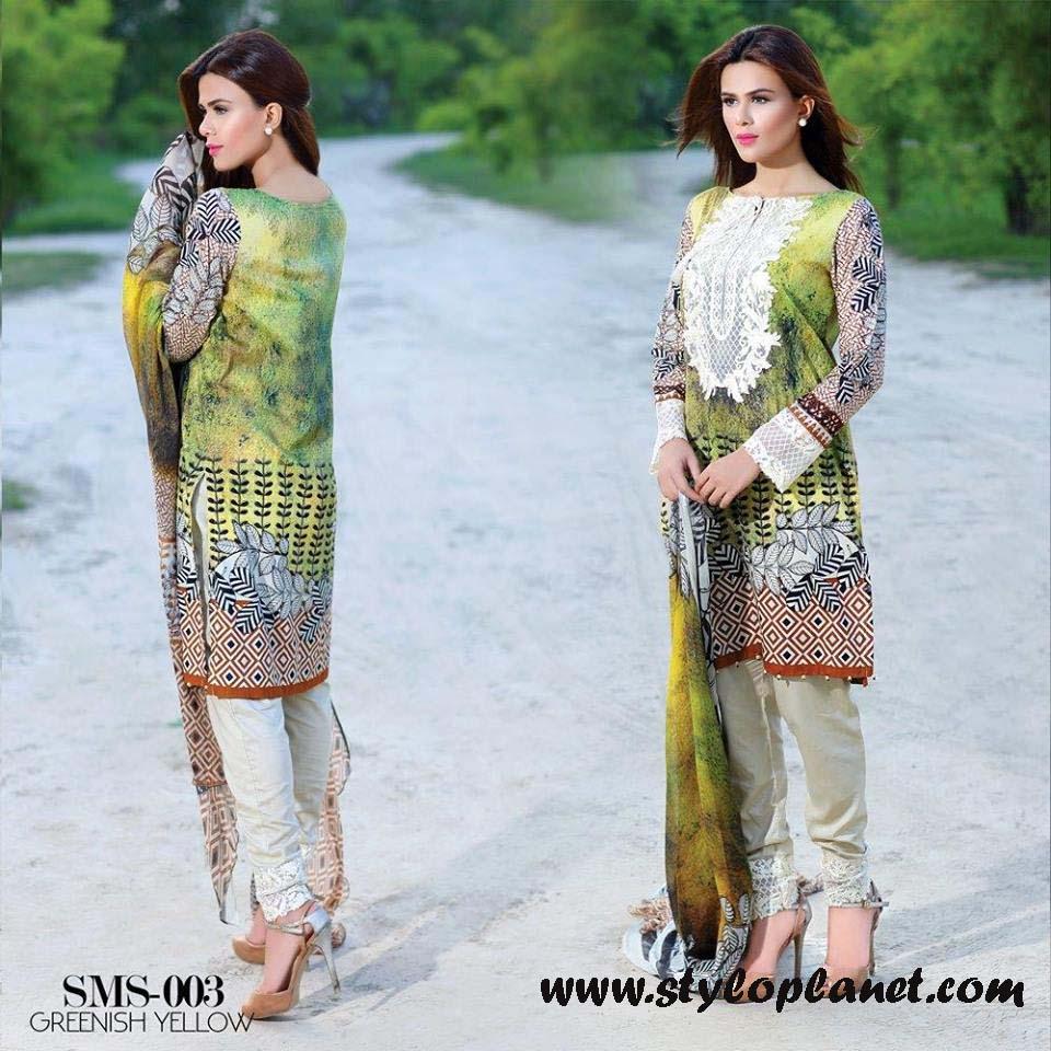 Sana & Samia Midsummer'16 Collection by LALA Textiles for Women (42)