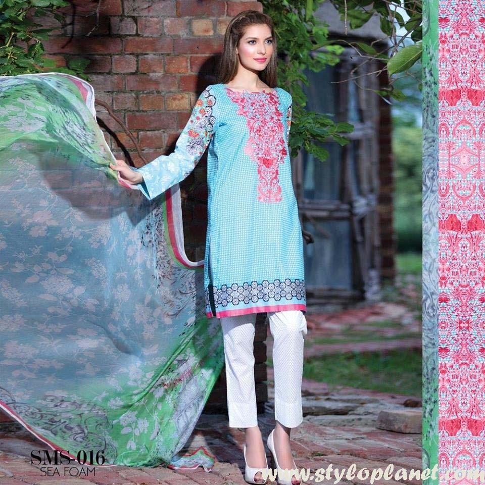 Sana & Samia Midsummer'16 Collection by LALA Textiles for Women (46)