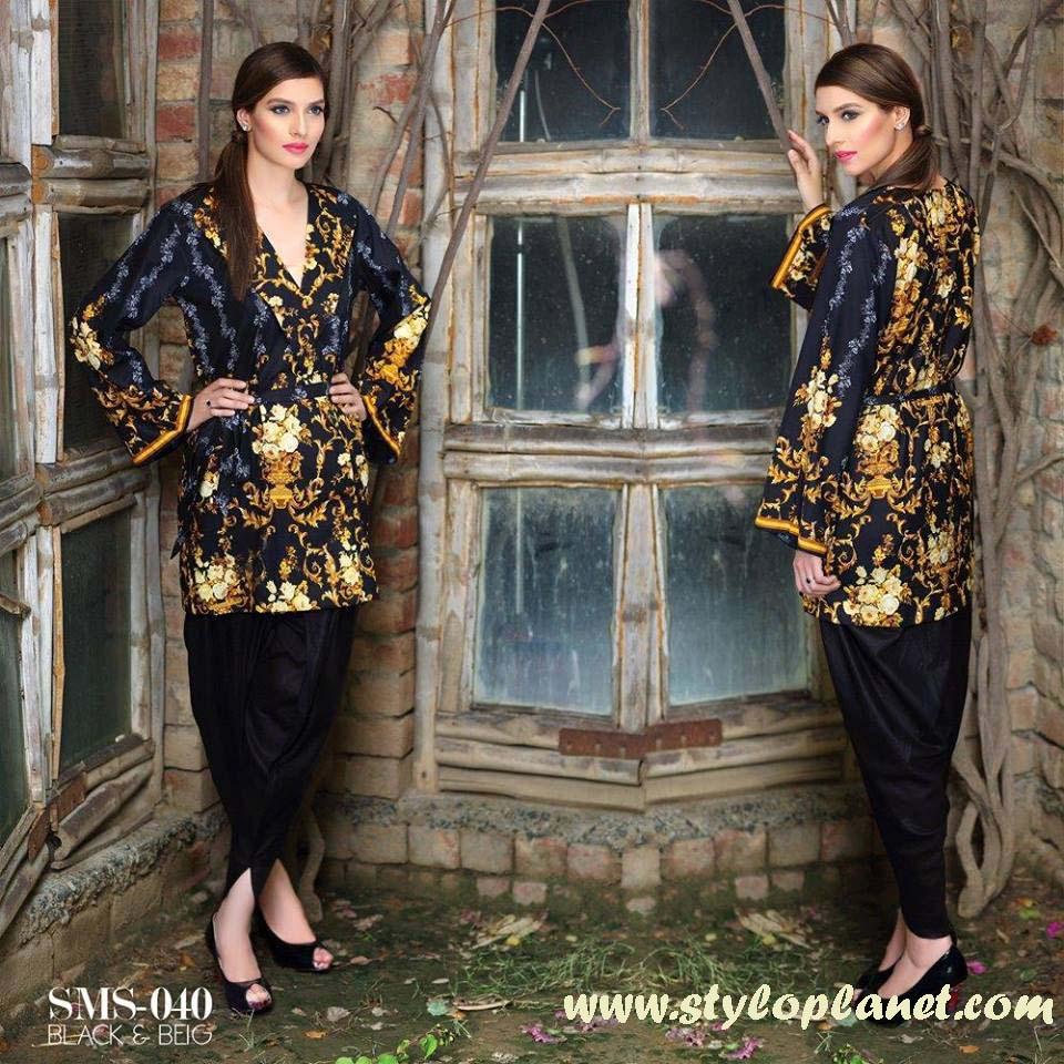 Sana & Samia Midsummer'16 Collection by LALA Textiles for Women (5)