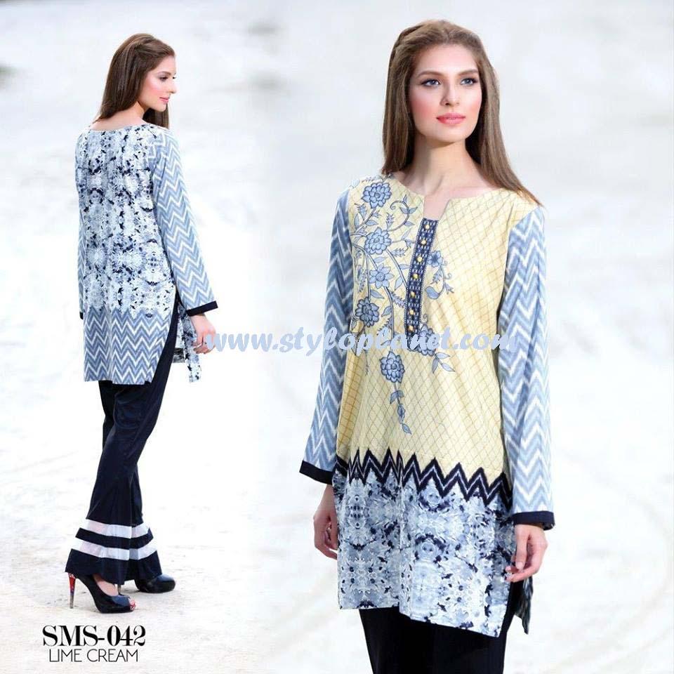 Sana & Samia Midsummer'16 Collection by LALA Textiles for Women (7)