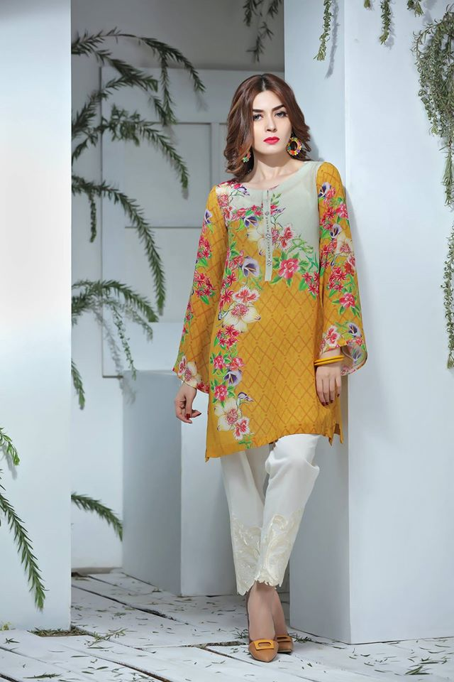 So Kamal Digital Embroidered Shirt Collection 2016-2017 Cambric Pret Dresses (12)