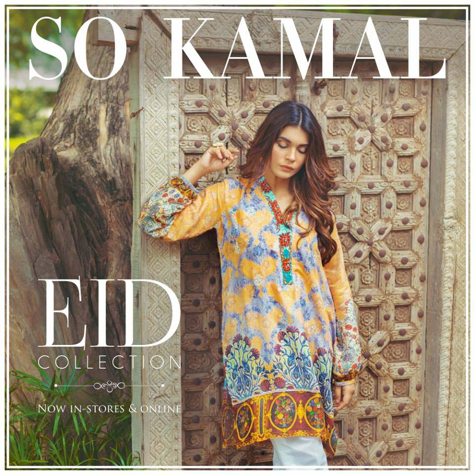 So Kamal Digital Embroidered Shirt Collection 2016-2017 Cambric Pret Dresses (17)