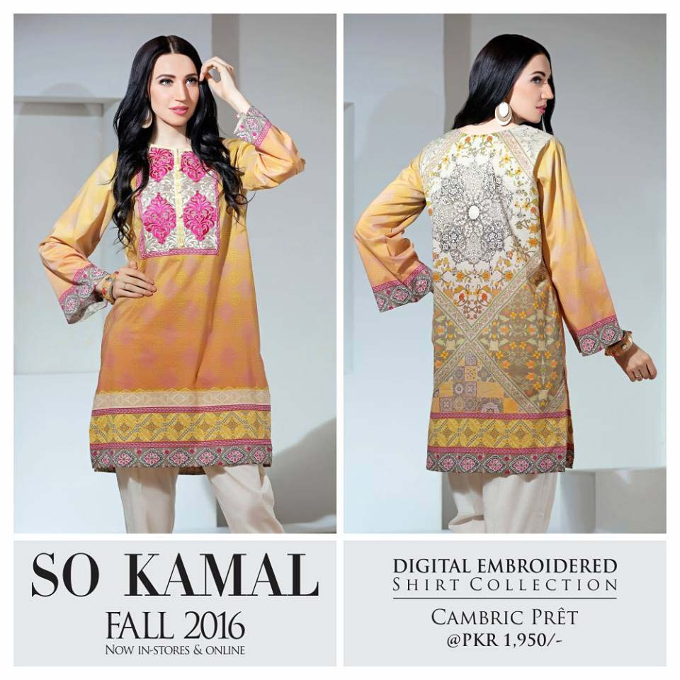 So Kamal Digital Embroidered Shirt Collection 2016-2017 Cambric Pret Dresses (18)