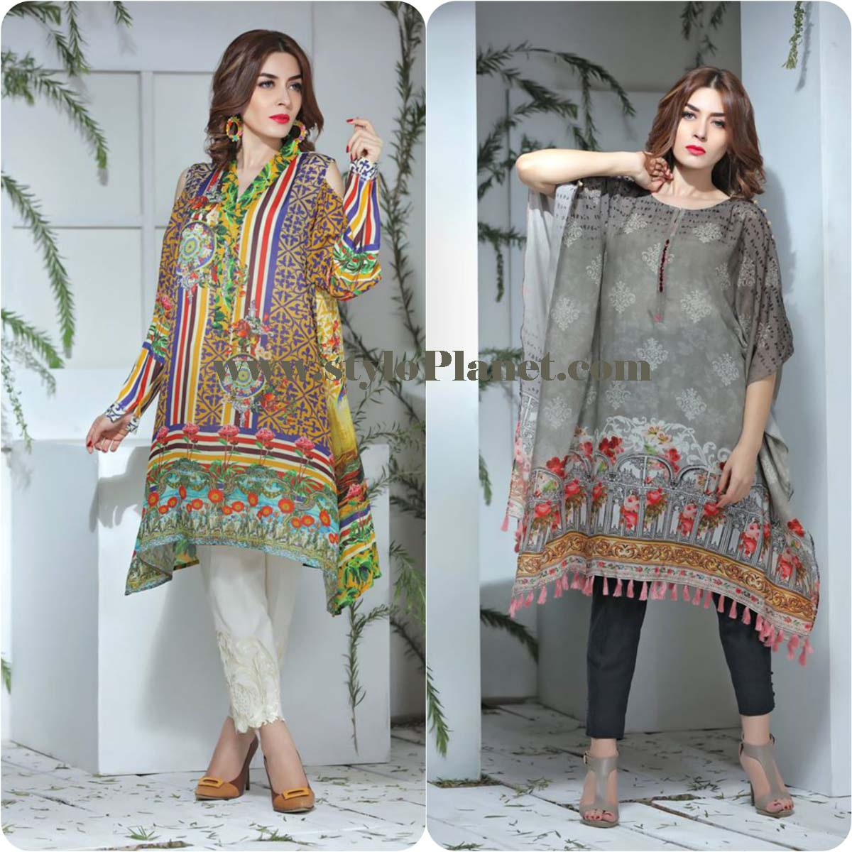 So Kamal Digital Embroidered Shirt Collection 2016-2017 Cambric Pret Dresses (24)