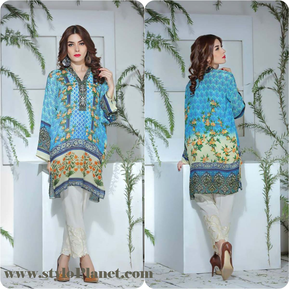 So Kamal Digital Embroidered Shirt Collection 2016-2017 Cambric Pret Dresses (3)