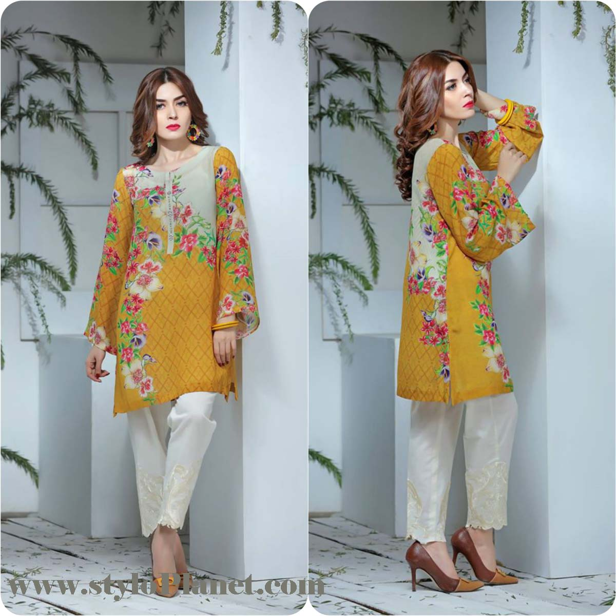 So Kamal Digital Embroidered Shirt Collection 2016-2017 Cambric Pret Dresses (4)