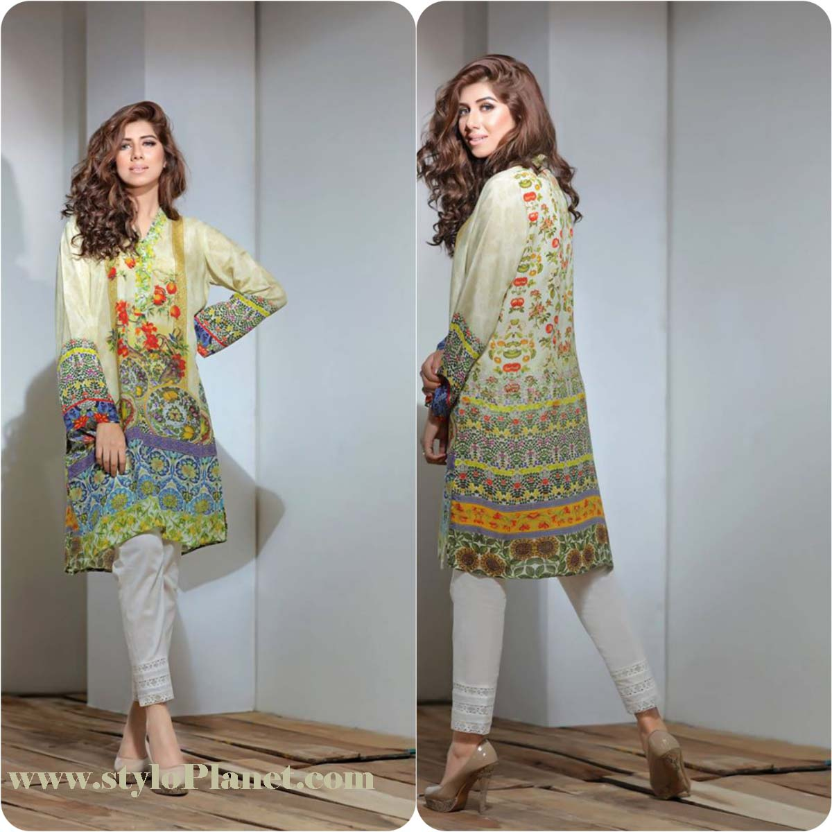 So Kamal Digital Embroidered Shirt Collection 2016-2017 Cambric Pret Dresses (5)