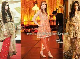 Wedding Wear Frocks designs